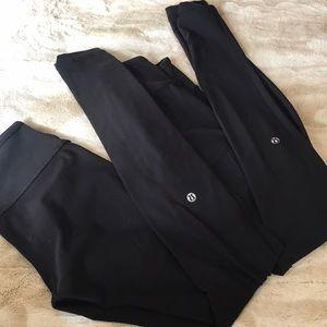 2 pairs Lululemon original wunder under
